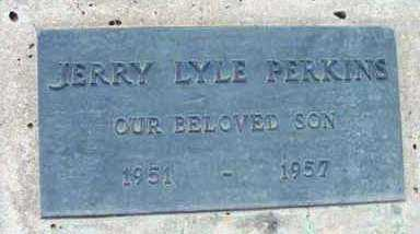 PERKINS, JERRY LYLE - Yavapai County, Arizona | JERRY LYLE PERKINS - Arizona Gravestone Photos