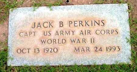 PERKINS, JACK B. - Yavapai County, Arizona | JACK B. PERKINS - Arizona Gravestone Photos