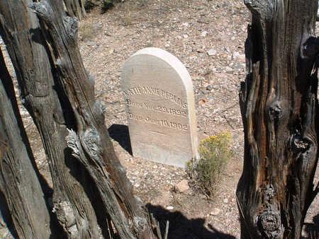 PERKINS, KATIE ANNIE - Yavapai County, Arizona   KATIE ANNIE PERKINS - Arizona Gravestone Photos