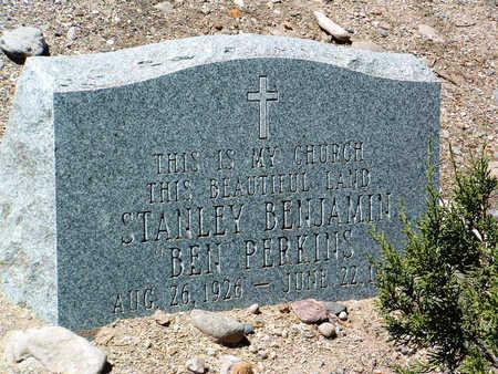 PERKINS, STANLEY BENJAMIN - Yavapai County, Arizona | STANLEY BENJAMIN PERKINS - Arizona Gravestone Photos