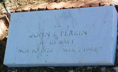 PERRIN, JOHN E. - Yavapai County, Arizona | JOHN E. PERRIN - Arizona Gravestone Photos