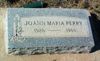 PERRY, JOANN MARIA - Yavapai County, Arizona | JOANN MARIA PERRY - Arizona Gravestone Photos