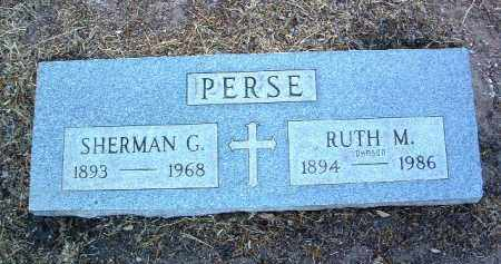 PERSE, RUTH M. - Yavapai County, Arizona | RUTH M. PERSE - Arizona Gravestone Photos
