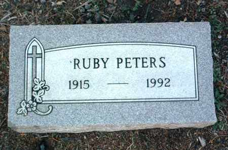 PETERS, RUBY - Yavapai County, Arizona | RUBY PETERS - Arizona Gravestone Photos