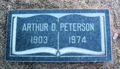 PETERSON, ARTHUR D. - Yavapai County, Arizona | ARTHUR D. PETERSON - Arizona Gravestone Photos