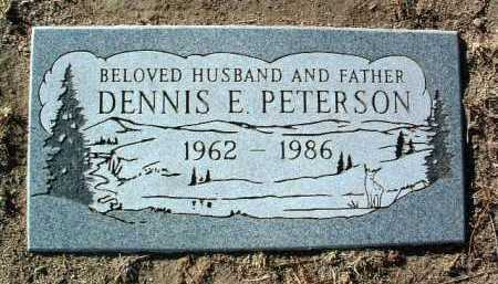 PETERSON, DENNIS E. - Yavapai County, Arizona | DENNIS E. PETERSON - Arizona Gravestone Photos
