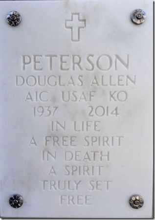 PETERSON, DOUGLAS A. - Yavapai County, Arizona | DOUGLAS A. PETERSON - Arizona Gravestone Photos