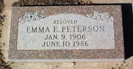PETERSON, EMMA E. - Yavapai County, Arizona   EMMA E. PETERSON - Arizona Gravestone Photos