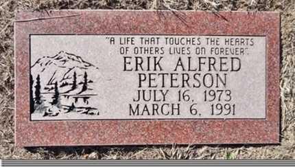 PETERSON, ERIK ALFRED - Yavapai County, Arizona | ERIK ALFRED PETERSON - Arizona Gravestone Photos