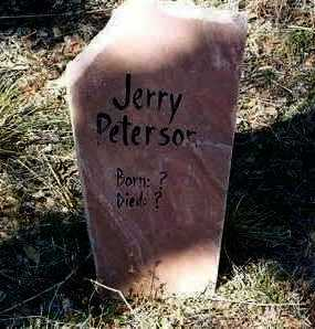 PETERSON, JERRY - Yavapai County, Arizona | JERRY PETERSON - Arizona Gravestone Photos