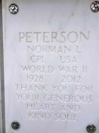 PETERSON, NORMAN LEE - Yavapai County, Arizona | NORMAN LEE PETERSON - Arizona Gravestone Photos