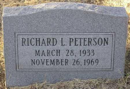 PETERSON, RICHARD L. - Yavapai County, Arizona   RICHARD L. PETERSON - Arizona Gravestone Photos