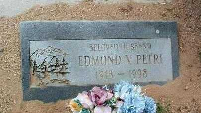 PETRI, EDMOND V. - Yavapai County, Arizona | EDMOND V. PETRI - Arizona Gravestone Photos