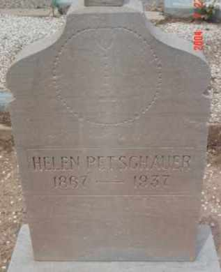 PETSCHAUER, HELEN - Yavapai County, Arizona | HELEN PETSCHAUER - Arizona Gravestone Photos