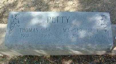 CURTIS PETTY, MARGERUITE - Yavapai County, Arizona | MARGERUITE CURTIS PETTY - Arizona Gravestone Photos