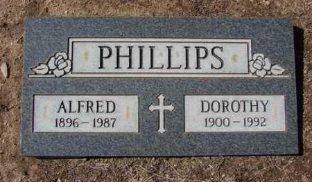 PHILLIPS, ALFRED HERMAN - Yavapai County, Arizona | ALFRED HERMAN PHILLIPS - Arizona Gravestone Photos
