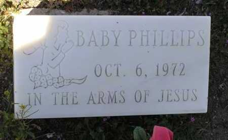 PHILLIPS, BABY - Yavapai County, Arizona | BABY PHILLIPS - Arizona Gravestone Photos