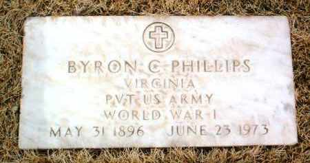 PHILLIPS, BYRON C. - Yavapai County, Arizona | BYRON C. PHILLIPS - Arizona Gravestone Photos