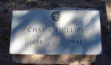 PHILLIPS, CHARLES ALEX. - Yavapai County, Arizona | CHARLES ALEX. PHILLIPS - Arizona Gravestone Photos