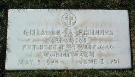 PHILLIPS, CHESTER A. - Yavapai County, Arizona | CHESTER A. PHILLIPS - Arizona Gravestone Photos