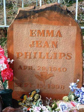 PHILLIPS, EMMA JEAN - Yavapai County, Arizona | EMMA JEAN PHILLIPS - Arizona Gravestone Photos