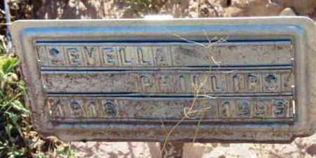 PHILLIPS, EVELLA - Yavapai County, Arizona | EVELLA PHILLIPS - Arizona Gravestone Photos
