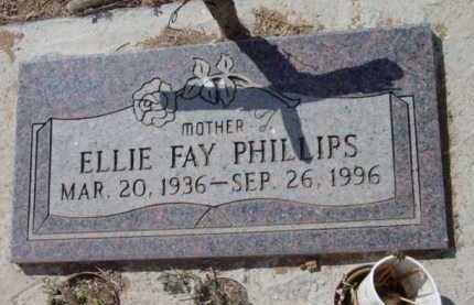 PHILLIPS, ELLIE FAY - Yavapai County, Arizona | ELLIE FAY PHILLIPS - Arizona Gravestone Photos
