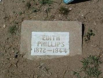 PHILLIPS, EDITH - Yavapai County, Arizona | EDITH PHILLIPS - Arizona Gravestone Photos
