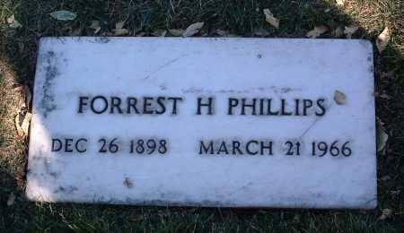 PHILLIPS, FORREST HOMER - Yavapai County, Arizona | FORREST HOMER PHILLIPS - Arizona Gravestone Photos