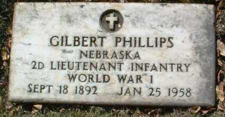PHILLIPS, GILBERT - Yavapai County, Arizona | GILBERT PHILLIPS - Arizona Gravestone Photos