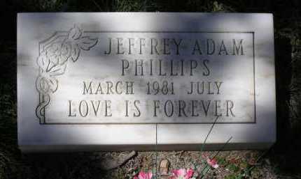 PHILLIPS, JEFFREY ADAM - Yavapai County, Arizona | JEFFREY ADAM PHILLIPS - Arizona Gravestone Photos