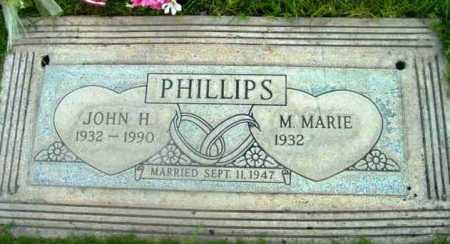 PHILLIPS, M.MARIE - Yavapai County, Arizona | M.MARIE PHILLIPS - Arizona Gravestone Photos