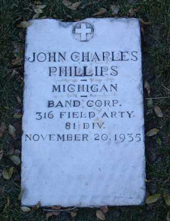 PHILLIPS, JOHN CHARLES - Yavapai County, Arizona | JOHN CHARLES PHILLIPS - Arizona Gravestone Photos