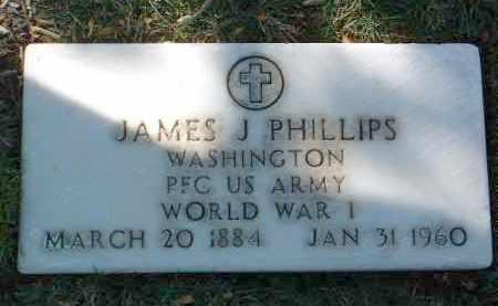 PHILLIPS, JAMES J. - Yavapai County, Arizona | JAMES J. PHILLIPS - Arizona Gravestone Photos
