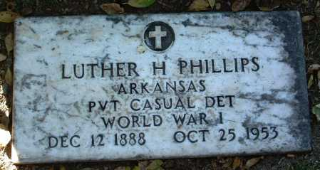 PHILLIPS, LUTHER HARRISON - Yavapai County, Arizona | LUTHER HARRISON PHILLIPS - Arizona Gravestone Photos