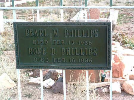 PHILLIPS, ROSE D. - Yavapai County, Arizona   ROSE D. PHILLIPS - Arizona Gravestone Photos