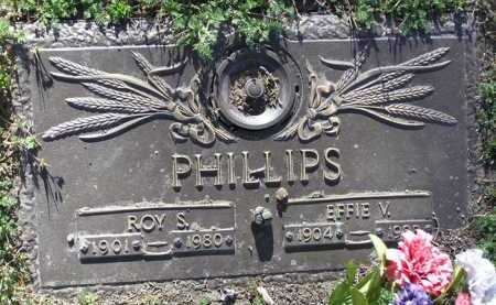 PHILLIPS, EFFIE VIOLA - Yavapai County, Arizona | EFFIE VIOLA PHILLIPS - Arizona Gravestone Photos