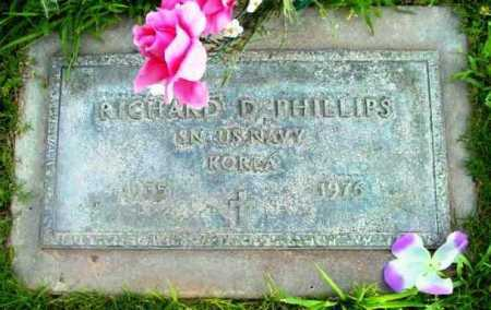 PHILLIPS, RICHARD D. - Yavapai County, Arizona | RICHARD D. PHILLIPS - Arizona Gravestone Photos