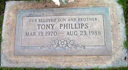 PHILLIPS, TONY (ANTHONY) - Yavapai County, Arizona | TONY (ANTHONY) PHILLIPS - Arizona Gravestone Photos