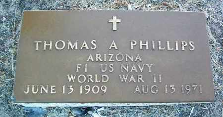 PHILLIPS, THOMAS ALEX. - Yavapai County, Arizona | THOMAS ALEX. PHILLIPS - Arizona Gravestone Photos