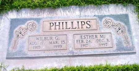 PHILLIPS, WILBUR GEORGE - Yavapai County, Arizona | WILBUR GEORGE PHILLIPS - Arizona Gravestone Photos