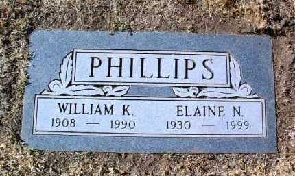 PHILLIPS, WILLIAM K. - Yavapai County, Arizona   WILLIAM K. PHILLIPS - Arizona Gravestone Photos