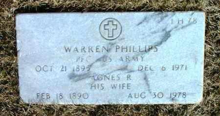 PHILLIPS, WARREN M. - Yavapai County, Arizona | WARREN M. PHILLIPS - Arizona Gravestone Photos