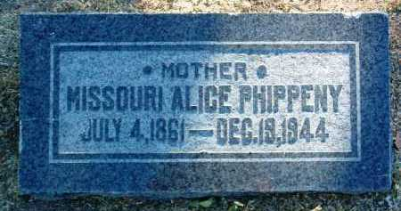 SMITH PHIPPENY, MISSOURI - Yavapai County, Arizona | MISSOURI SMITH PHIPPENY - Arizona Gravestone Photos