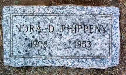 PHIPPENY, NORA D. - Yavapai County, Arizona | NORA D. PHIPPENY - Arizona Gravestone Photos