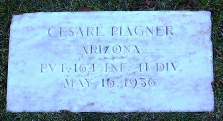 PIAGNER, CESARE - Yavapai County, Arizona | CESARE PIAGNER - Arizona Gravestone Photos
