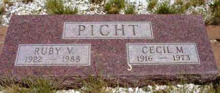 RAMSEY PICHT, RUBY V. - Yavapai County, Arizona | RUBY V. RAMSEY PICHT - Arizona Gravestone Photos