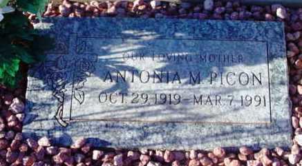 PICON, ANTONIA MENDOZA - Yavapai County, Arizona | ANTONIA MENDOZA PICON - Arizona Gravestone Photos