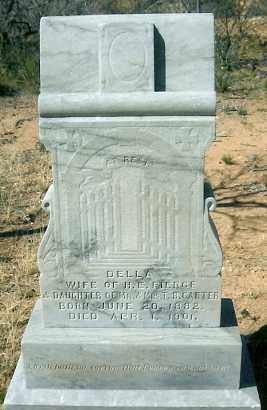 "PIERCE, CLARA ADELL ""DELLA"" - Yavapai County, Arizona | CLARA ADELL ""DELLA"" PIERCE - Arizona Gravestone Photos"
