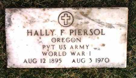 PIERSOL, HALLY F. - Yavapai County, Arizona | HALLY F. PIERSOL - Arizona Gravestone Photos